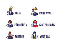 Theme mascottes