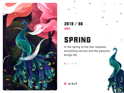 An illustration about spring.