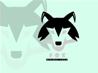 Artboard 1fox Minimal  Logo