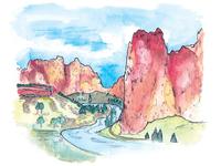 7 Wonders of Oregon: Smith Rock