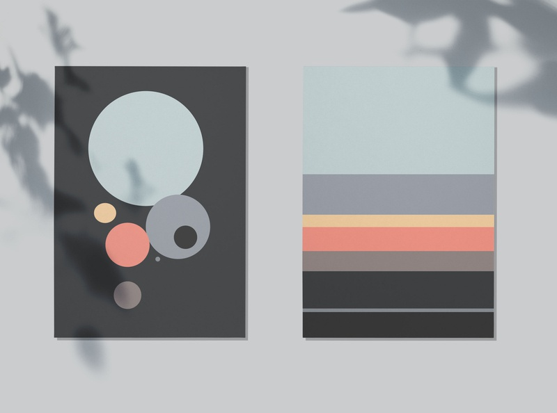 poster | sunrise | abstract sunrise abstract poster poster art designer design