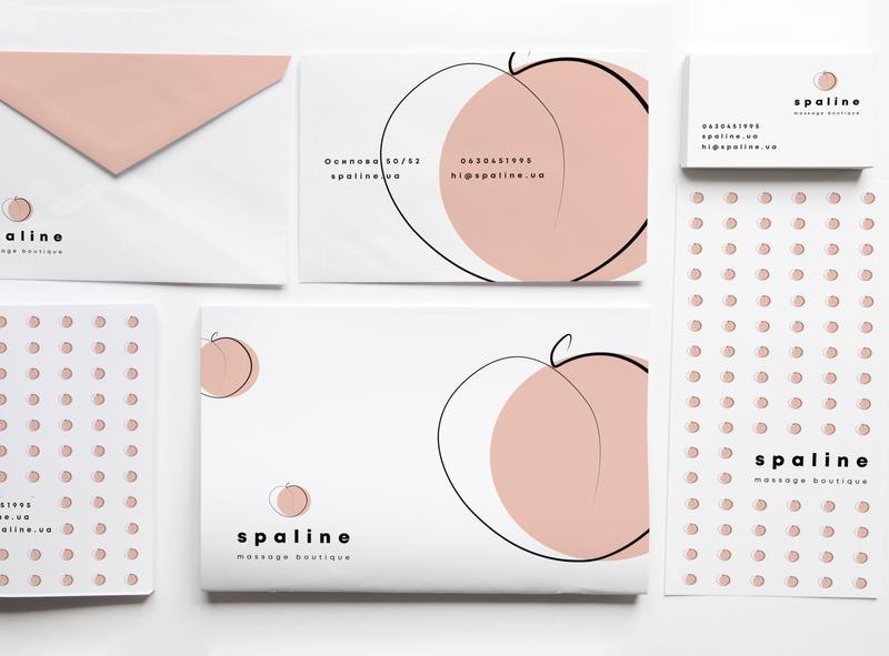stationary | spaline corporate identity identity design designer design