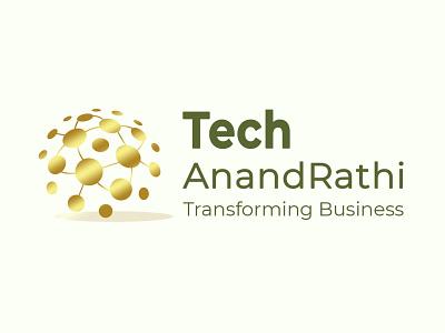 Tech Anand Rathi icon ux logo illustration design