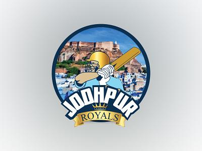 Jodhpur Royals vector ux logo illustration icon design