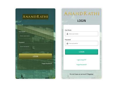 Mobile App app ui design