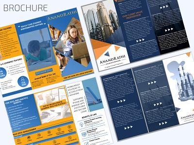 Brochure  Design ux ui branding design