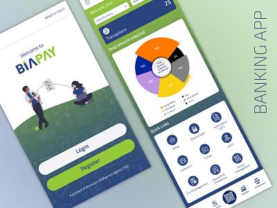 Banking App ui app design ux