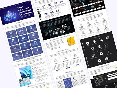 Website Design branding icon ui design