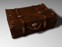 Suitcase 3d, Maya