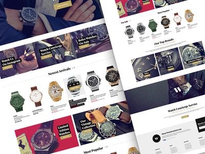 Watch Limited - Website Homepage