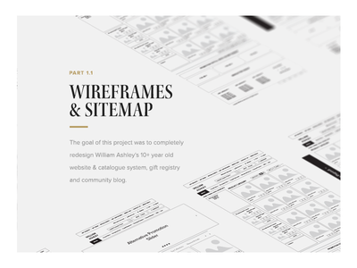 Case Study Presentation - Wireframe Preview stylesheet perspective case study