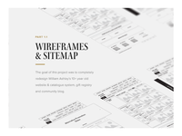 Case Study Presentation - Wireframe Preview