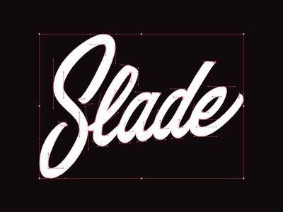 WIP Slade logo - Bezier Curves straight curves 90 degrees bezier curves design identity logo branding