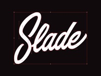 WIP Slade logo - Bezier Curves