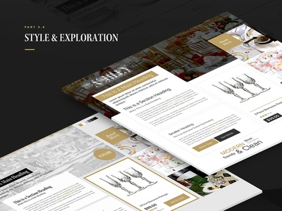 Case Study Presentation - Style Exploration Preview ecommerce checkout perspective presentation case study
