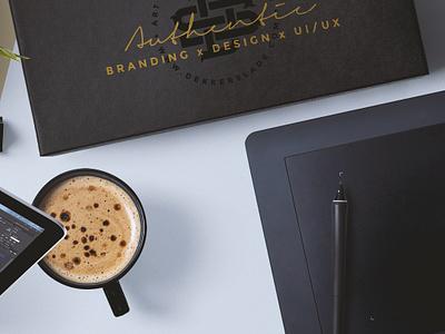 Personal Branding - Hero Teaser uiux design monogram teaser hero identity branding