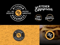 Kitchen Eggspress - Brand Identity