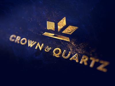 C&Q - Kickstarter Teaser watch timepiece sparkles glitter gold 3d identity logo reveal logo watches kickstarter
