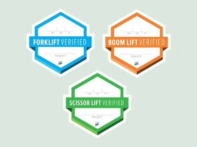 Safety Badges stickers badge
