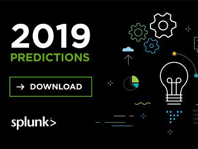 2019 Predictions icon illustration vector