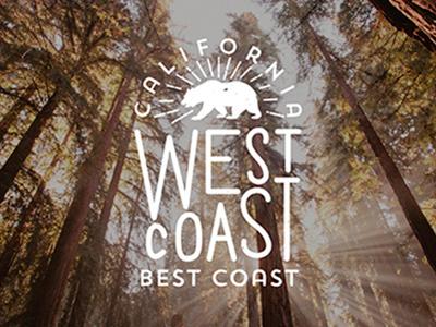 CLFRN california silkscreen silk screen west coast