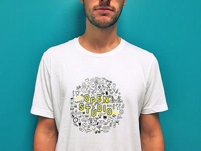 OPNSTD* tshirt shirt open studio event