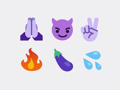 EMOJIS icons twitch emotes emojis