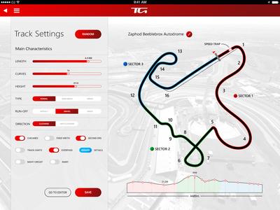 Track Generator Settings