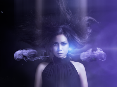 Black Witch Visual Effects witch visual effects motion graphics optical flares photography particles 3d design