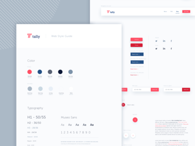 Tally web style guide