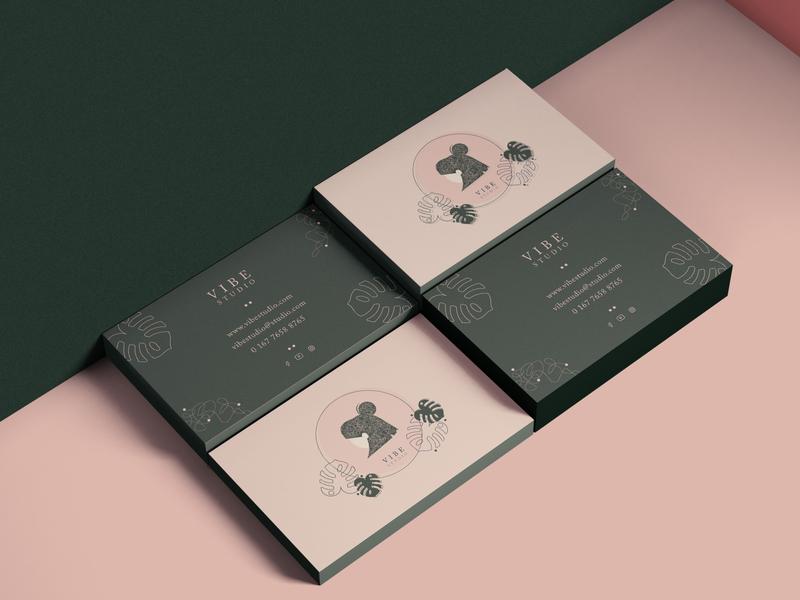 Vibe studio branding concept