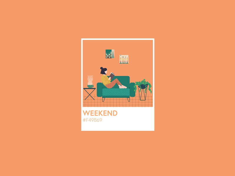 Stay home weekend weekend staysafe stayhome human adobeillustrator typography vector adobe graphic graphicdesign illustration design