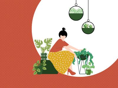 Grow Green branding graphicdesign minimal vector flat design adobe create illustration illustrator graphic