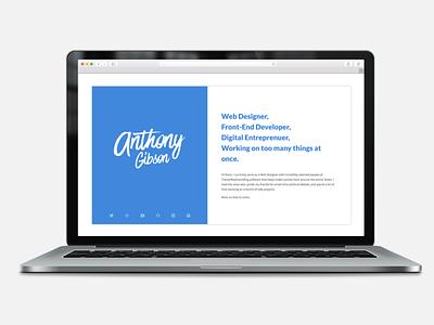 Personal Website personal brand web design web