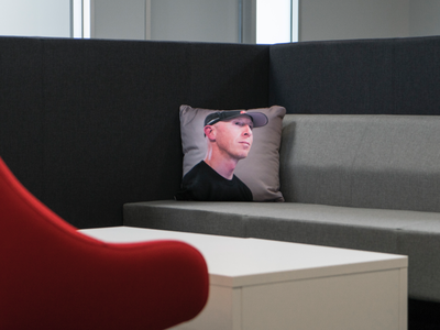 The Chillow pillow april fools cycling product branding