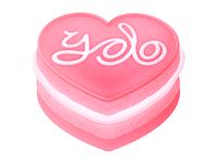 Yolo cake