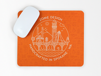 Zome Design mouse pad