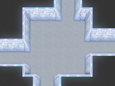 Cosmic station theme dungeon for a top-down rpg game station top-down rpg tileset tile seamless game artist game art game