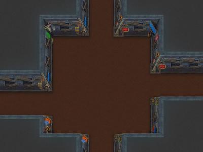 Wild west sci-fi saloon theme dungeon