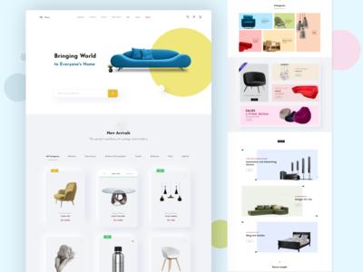 eCommerce Product Website
