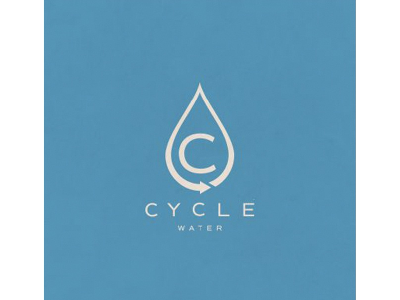 Cycle Water custom logo design vector illustration branding creative agency toronto graphic design toronto best logo designers toronto graphic design logo design logo design toronto a nerds world toronto