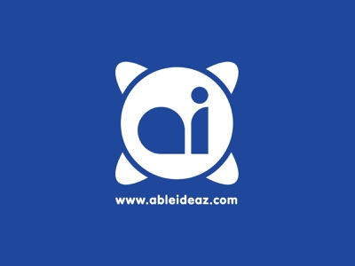Able Ideaz Logo Modernization logo comic book