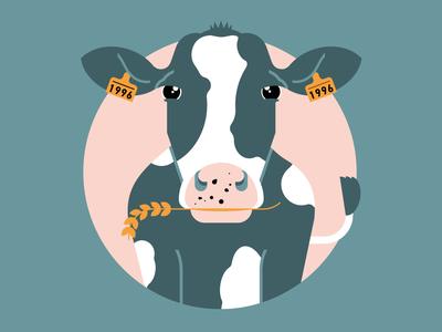 Quarantine Cow quarantine cow adobe vector illustration graphicdesign design adobe illustrator