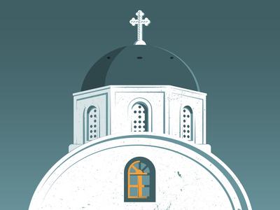 GREECE architecture quarantine vector illustration graphicdesign adobe illustrator design