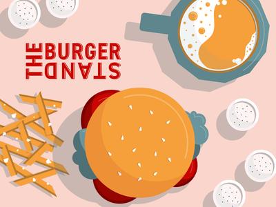 A Lawrence, Kansas Favorite burgers food food illustration quarantine adobe vector illustration graphicdesign adobe illustrator design