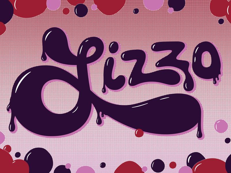 Lizzo Gig Poster (1/2) lizzo handlettering adobe vector illustration graphicdesign design adobe illustrator
