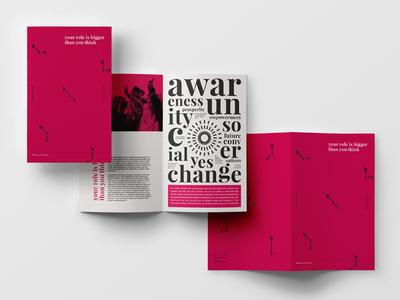 Social Awareness society change conversation discussion geometry minimal bold brand branding awareness social