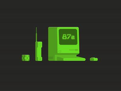 Born in the 80s science computer cube rubik apple mac eighties 1980 80s