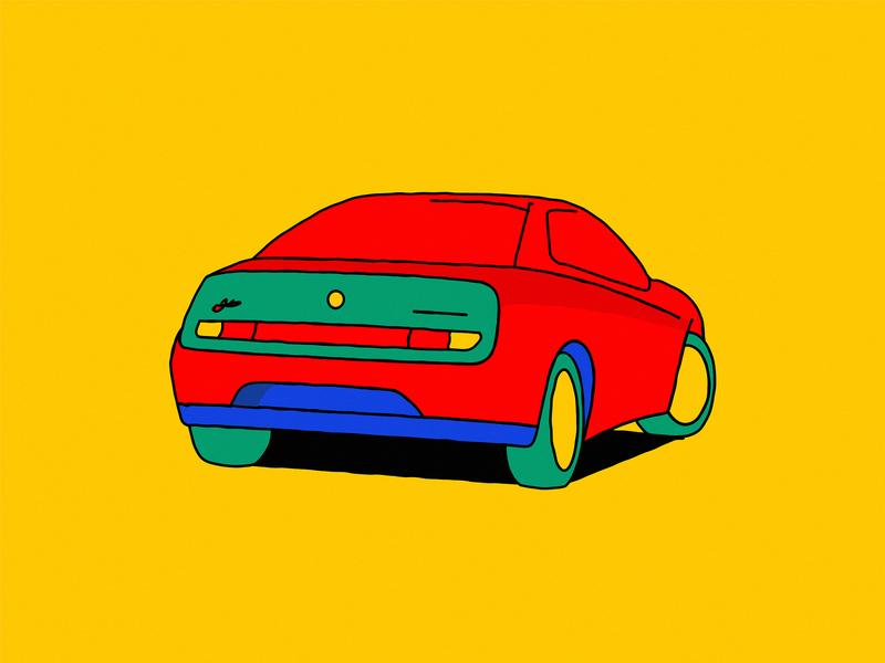 Alfa Romeo GTV bright vector design car automotive pininfarina fumia enrico gtv romeo alfa