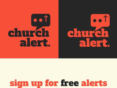 Church Alert Logo Concept